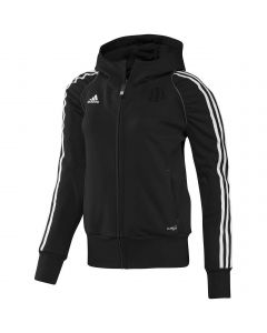ADIDAS-HOODY-T12-BLACK/WHITE-LADY-1