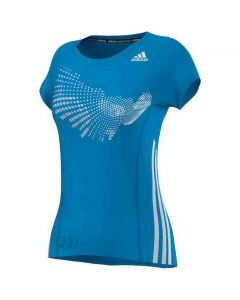 ADIDAS-T-SHIRT-BT-GRAPH-TEE-BLUE/WHITE-LADY-1