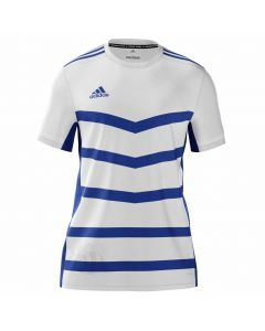 ADIDAS-T-SHIRT-T19-SS-WHITE/BLUE-1