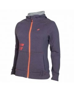 BABOLAT-HOODY-CORE-SWEAT-GRAPHITE-LADY-1