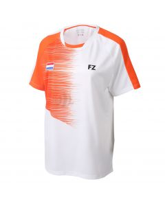 FORZA-T-SHIRT-BLIND-WHITE/ORANGE-LADY-1