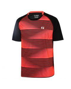 FORZA-T-SHIRT-DUBAI-BLACK/RED-1