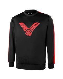 VICTOR-SWEATER-T-85106-BLACK/RED-1