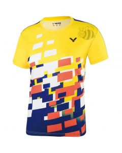 VICTOR-T-SHIRT-6418-YELLOW-LADY-1