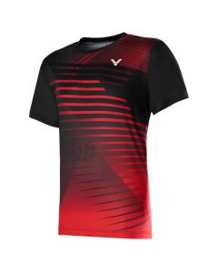 VICTOR-T-SHIRT-T-00001TD-RED/BLACK-1