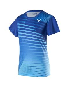 VICTOR-T-SHIRT-T-01001TD-BLUE-LADY-1