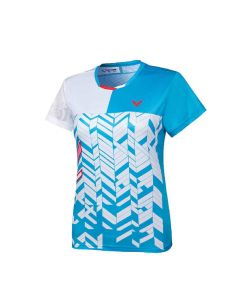 small-VICTOR-T-SHIRT-T-11007-BLUE/WHITE-LADY-1
