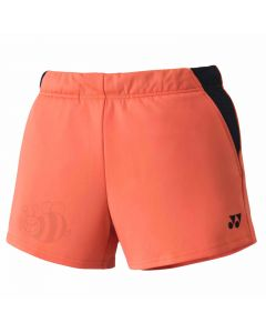 YONEX-SHORT-25038-CORAL-ORANGE-LADY-1