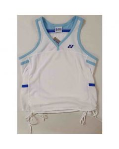 YONEX-T-SHIRT-2013-WHITE-SLEEVELESS-LADY-1